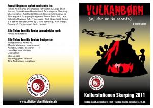 2011 program Vulkanbørn