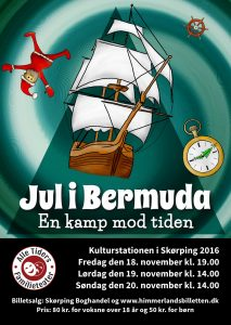 Jul i Bermuda flyer